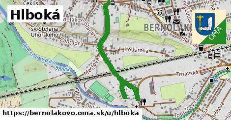 ilustrácia k Hlboká, Bernolákovo - 0,90km