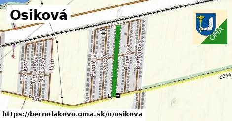 ilustrácia k Osiková, Bernolákovo - 467m