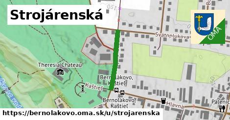 ilustrácia k Strojárenská, Bernolákovo - 194m
