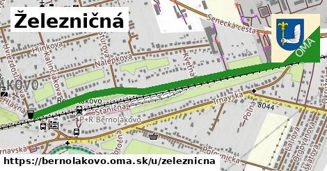 ilustrácia k Železničná, Bernolákovo - 1,22km