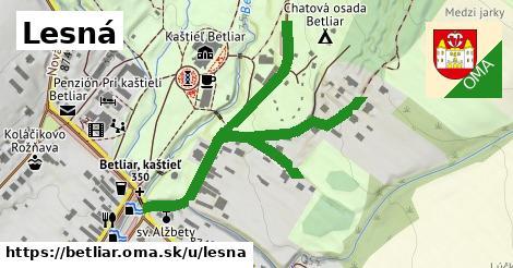 ilustrácia k Lesná, Betliar - 1,33km