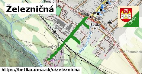 ilustrácia k Železničná, Betliar - 1,06km
