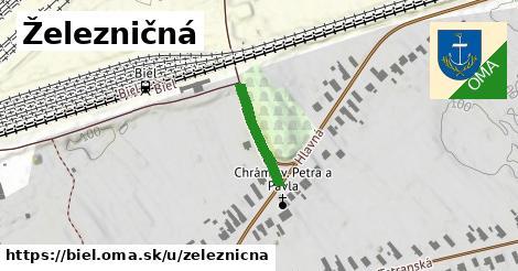 ilustrácia k Železničná, Biel - 147m