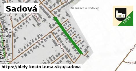 ilustrácia k Sadová, Biely Kostol - 156m