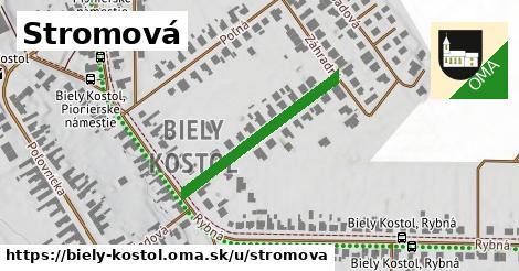 ilustrácia k Stromová, Biely Kostol - 580m