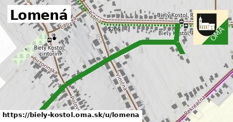 ilustrácia k Lomená, Biely Kostol - 521m