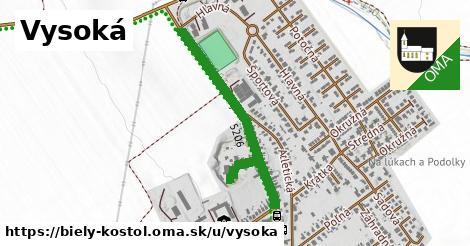 ilustrácia k Vysoká, Biely Kostol - 681m