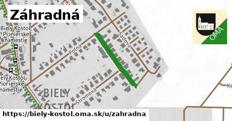 ilustrácia k Záhradná, Biely Kostol - 192m