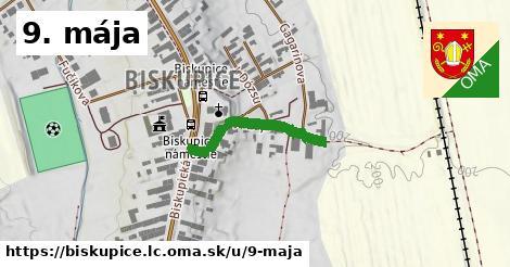 ilustrácia k 9. mája, Biskupice, okres LC - 414m