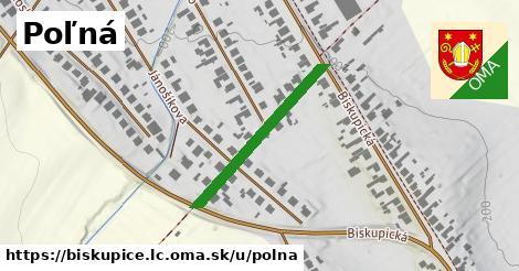 ilustrácia k Poľná, Biskupice, okres LC - 279m