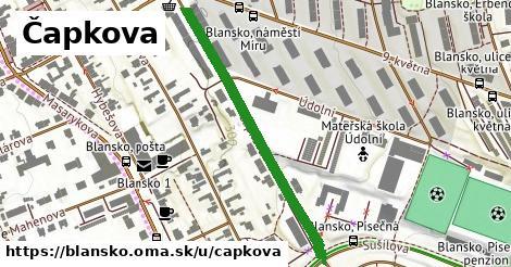 ilustrácia k Čapkova, Blansko - 414m