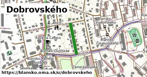 ilustrácia k Dobrovského, Blansko - 158m