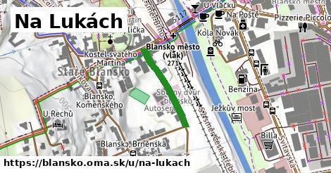 ilustrácia k Na Lukách, Blansko - 286m