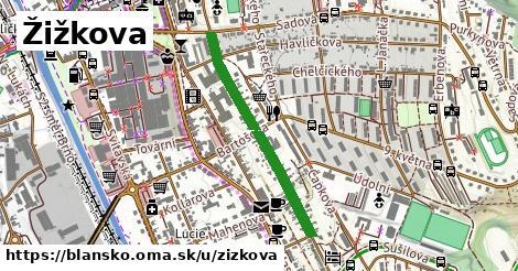 ilustrácia k Žižkova, Blansko - 645m