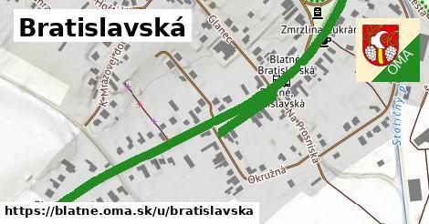 ilustrácia k Bratislavská, Blatné - 0,87km