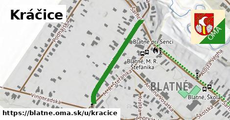 ilustrácia k Kráčice, Blatné - 323m