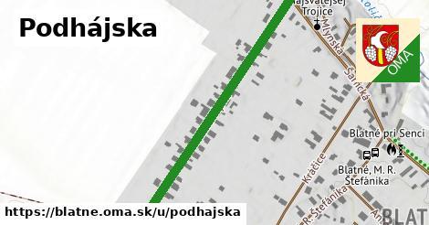 ilustrácia k Podhájska, Blatné - 473m