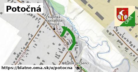 ilustrácia k Potočná, Blatné - 201m