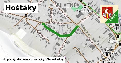 ilustrácia k Hoštáky, Blatné - 277m