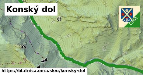 ilustračný obrázok k Konský dol, Blatnica