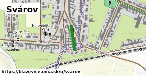 ilustrácia k Svárov, Blažovice - 128m
