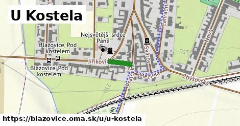 ilustrácia k U Kostela, Blažovice - 74m