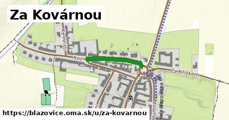 ilustrácia k Za Kovárnou, Blažovice - 206m