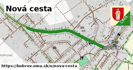 ilustrácia k Nová cesta, Bobrov - 0,99km