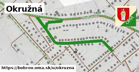 ilustrácia k Okružná, Bobrov - 600m
