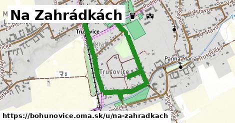 ilustrácia k Na Zahrádkách, Bohuňovice - 1,47km