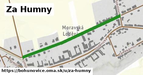 ilustrácia k Za Humny, Bohuňovice - 541m