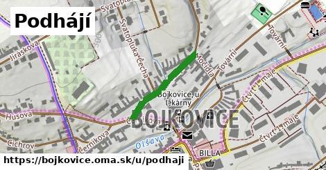 ilustrácia k Podhájí, Bojkovice - 210m