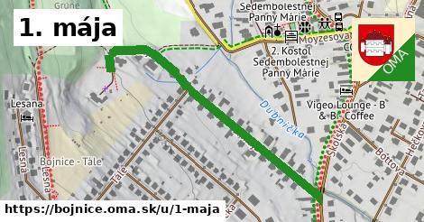 ilustrácia k 1. mája, Bojnice - 463m