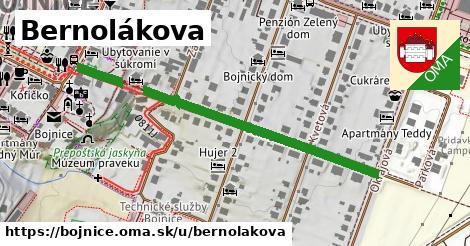ilustrácia k Bernolákova, Bojnice - 337m