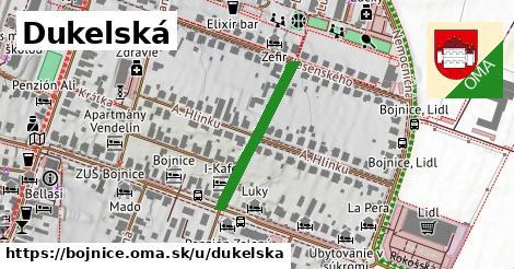 ilustrácia k Dukelská, Bojnice - 236m