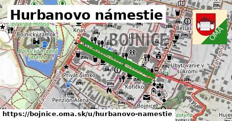 ilustračný obrázok k Hurbanovo námestie, Bojnice