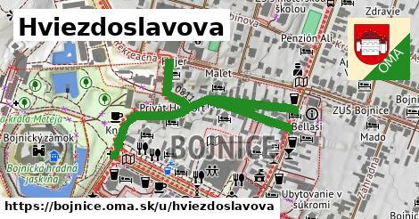 ilustrácia k Hviezdoslavova, Bojnice - 643m