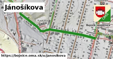 ilustrácia k Jánošíkova, Bojnice - 548m