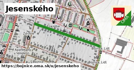 ilustrácia k Jesenského, Bojnice - 383m