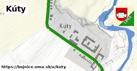 ilustrácia k Kúty, Bojnice - 663m