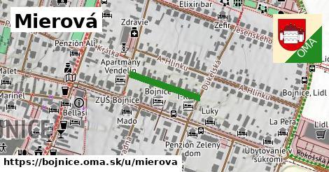 ilustrácia k Mierová, Bojnice - 167m
