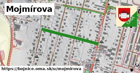 ilustrácia k Mojmírova, Bojnice - 310m