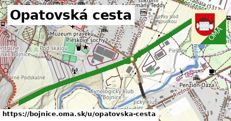 ilustrácia k Opatovská cesta, Bojnice - 1,41km