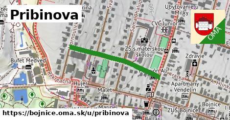 ilustrácia k Pribinova, Bojnice - 307m