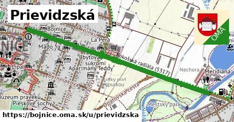 ilustrácia k Prievidzská, Bojnice - 1,27km
