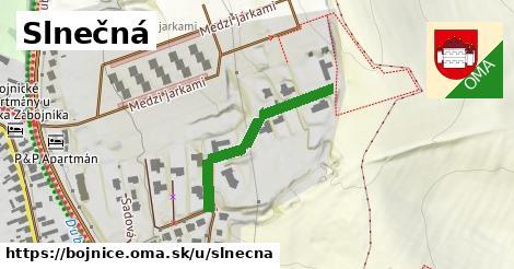 ilustrácia k Slnečná, Bojnice - 290m