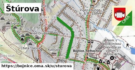 ilustrácia k Štúrova, Bojnice - 531m