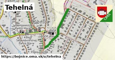 ilustrácia k Tehelná, Bojnice - 306m