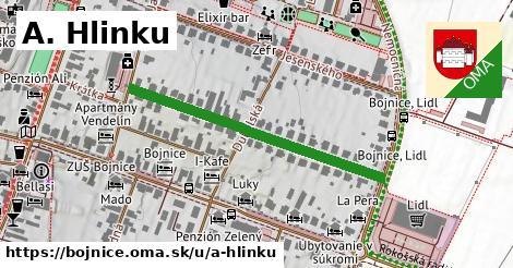 A. Hlinku, Bojnice