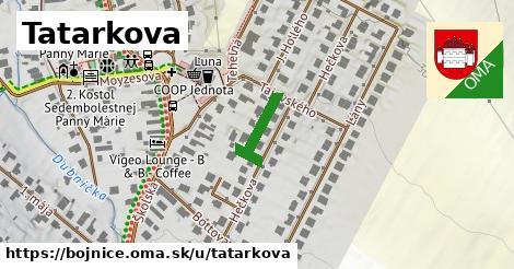 Tatarkova, Bojnice
